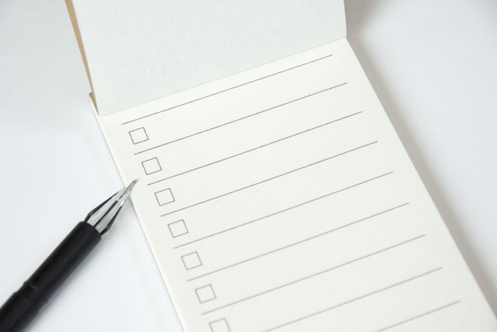 faire une liste avant de dormir pour un meilleur sommeil